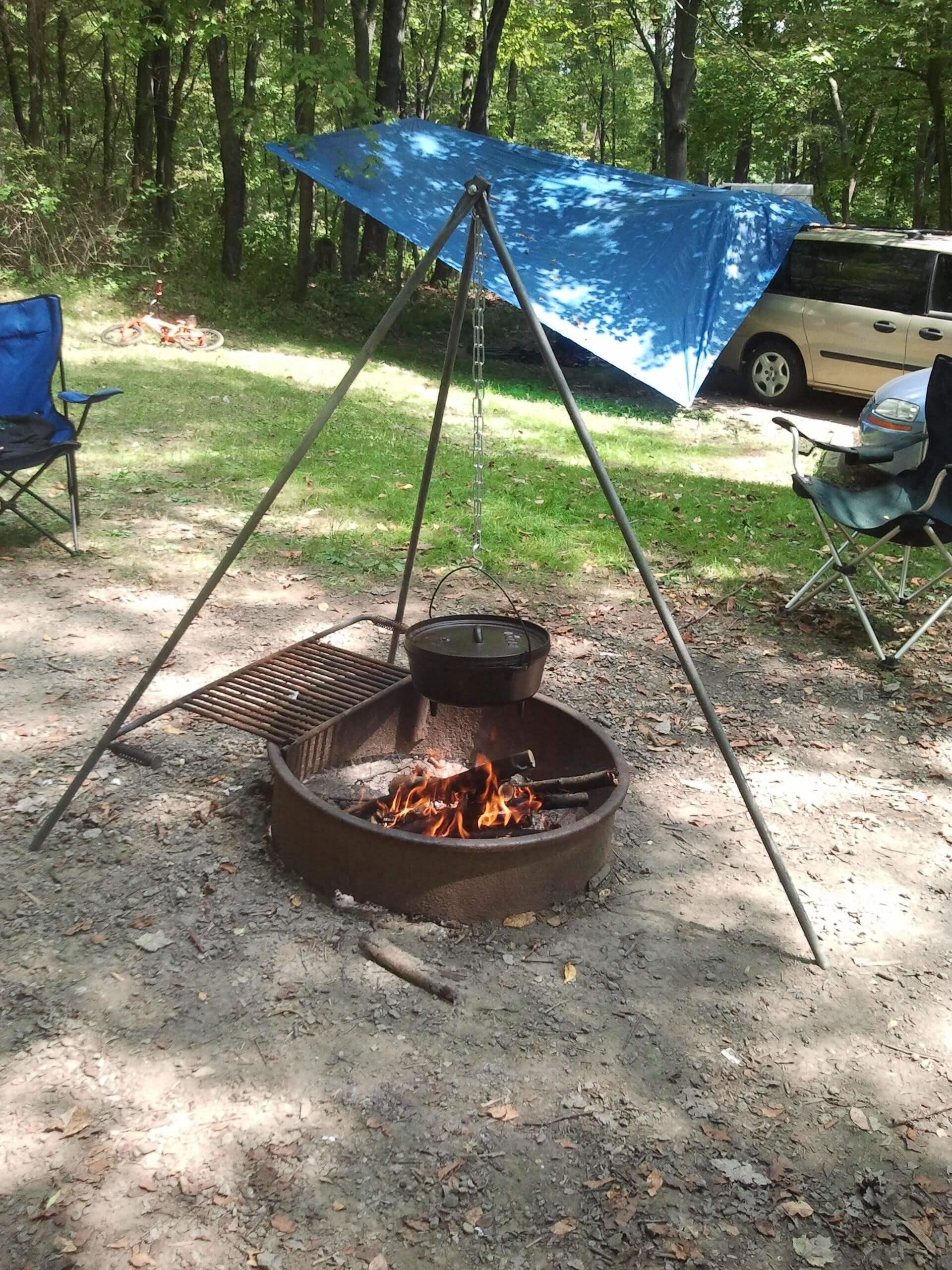 Campfire-Tripod