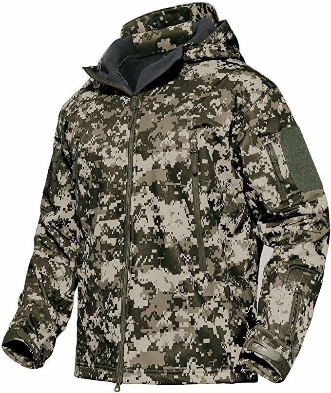 MAGCOMSEN Men's Tactical Army Hunting Jacket