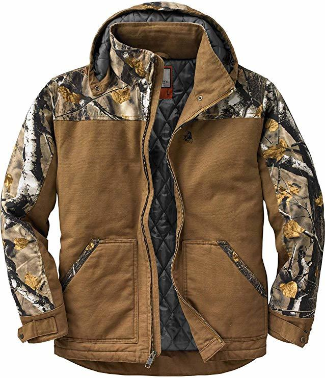 Legendary Whitetails Men's Canvas Cross Workwear Jacket