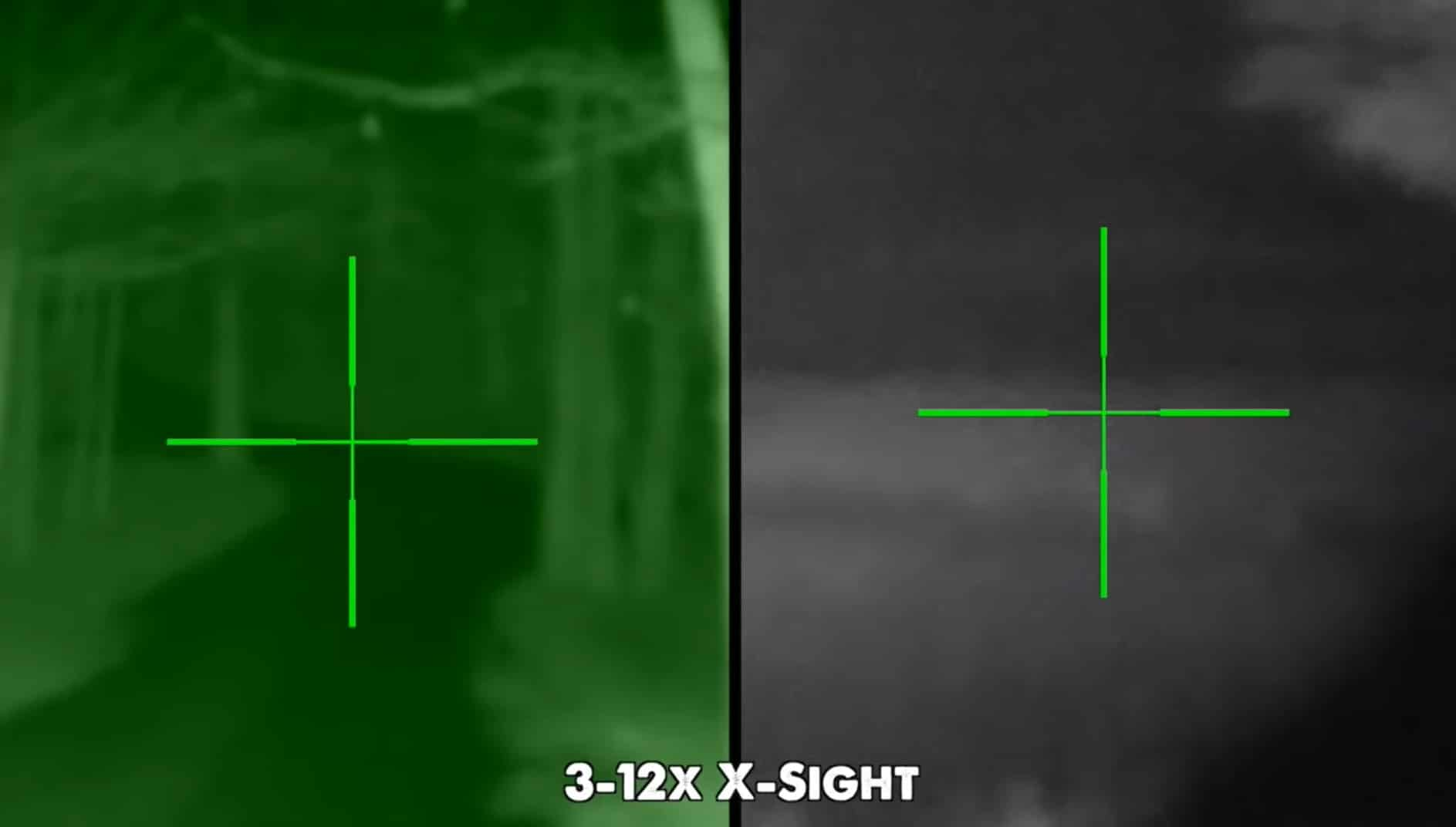 Sight In A Night Vision Scope