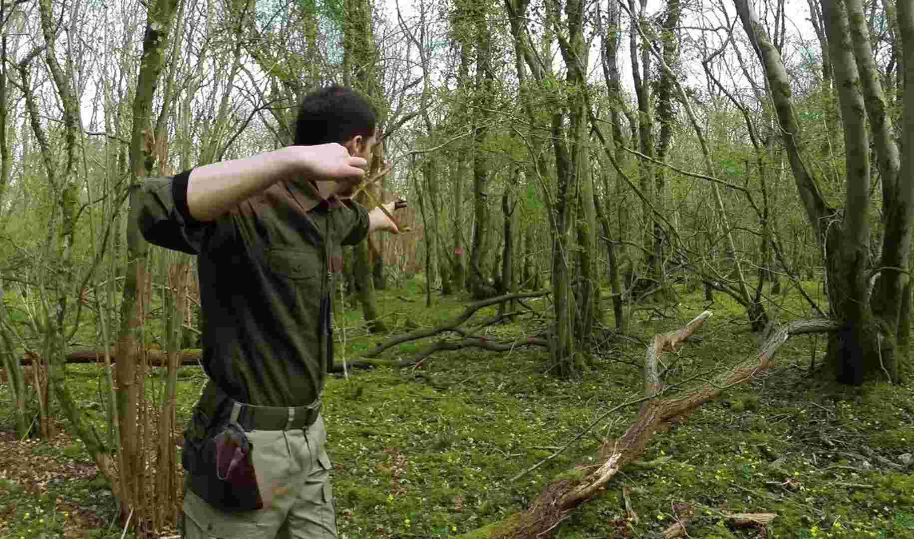 How to Hunt with A Slingshot